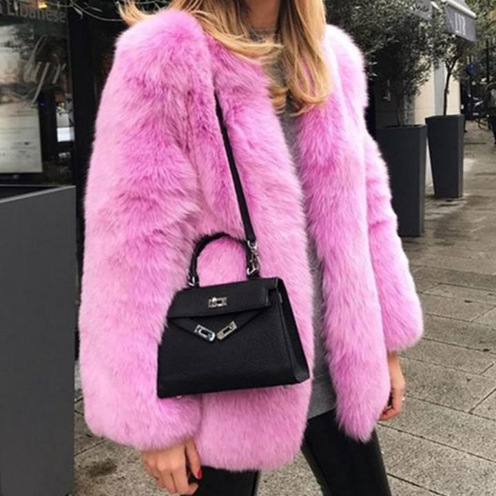 Verde-rosa-rosso-Elegante-eco-friendly-pelliccia-di-volpe-cappotto-per-le-donne-delle-donne-giacche