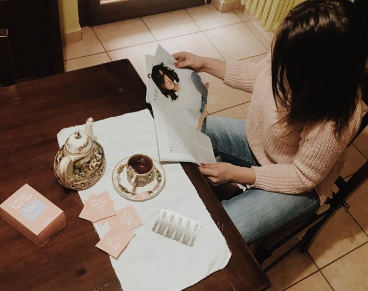 Tea time 😌